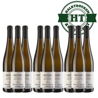 Weißwein Rheinhessen Silvaner Weingut Becker halbtrocken ( 9 x 0, 75 l)