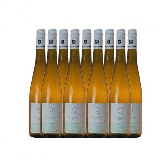 Weißwein Rheingau Riesling Weingut Lorenz Kunz Classic feinherb ( 9x0, 75l)