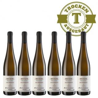 Weißwein Rheinhessen Gewürztraminer Weingut Becker Hüttberg trocken ( 6 x 0, 75)