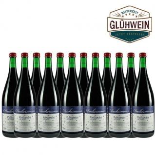 """Glühwein Rheinhessen Weingut Dackermann """" Rubicundus"""" rot (12x1, 0l)"""