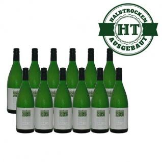 Weißwein Pfalz Silvaner Weingut Krieger feinherb (12 x 1, 0 l)