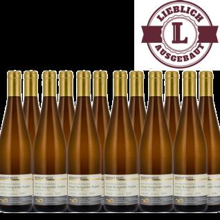 Weißwein Nahe Grauer Burgunder Weingut Roland Mees Kreuznacher Rosenberg Auslese lieblich (12 x 0, 75l)