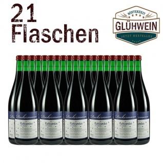 """Glühwein Rheinhessen Weingut Dackermann """" Rubicundus"""" rot (21x1, 0l)"""