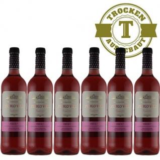 Rosé Spanien Rioja Pueblo Viejo trocken (6 x 0, 75l)