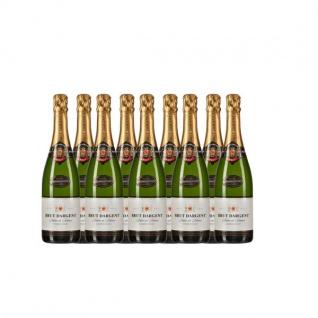 Brut Dargent Méthode Traditionnelle Chardonnay Sekt (9 x 0.75 l)