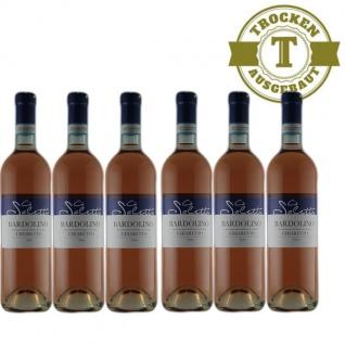 Rosé Italien Bardolino trocken (6 x 0, 75l)