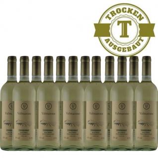 Weißwein Italien Chardonnay trocken (12 x 0, 75l)