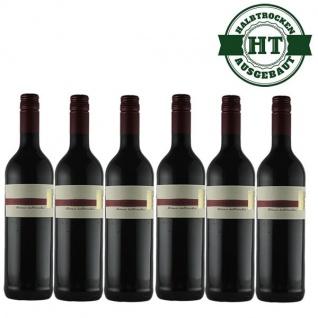 Rotwein Pfalz Dornfelder Weingut Krieger Qualitätswein halbtrocken (6 x 0, 75 l)