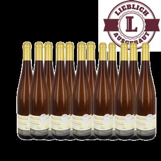 Weißwein Nahe Riesling Weingut Roland Mees Kreuznacher Paradies Auslese lieblich (12 x 0, 75l)