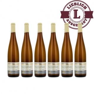 Weißwein Nahe Muskat - Ottonel Weingut Roland Mees Nahe Kreuznacher Rosenberg Spätlese lieblich (6 x 0, 75l)