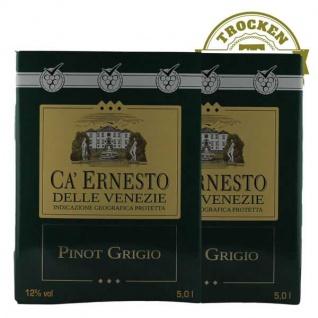 Weißwein Italien Pinot Grigio Ca Ernesto Bag in Box trocken (2x5L )