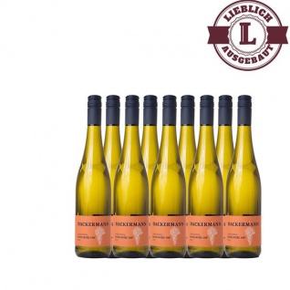 Weißwein Rheinhessen Scheurebe Weingut Dackermann Auslese 108° lieblich ( 9 x 0, 75 l)