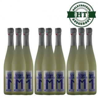 Secco Pfalz Riesling und Kerner Weingut Krieger halbtrocken (9 x 0, 75l)