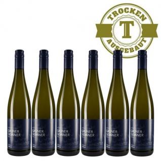Weißwein Rheinhessen Silvaner Weingut Dackermann Hesslocher Ortswein trocken ( 6 x 0, 75 l)