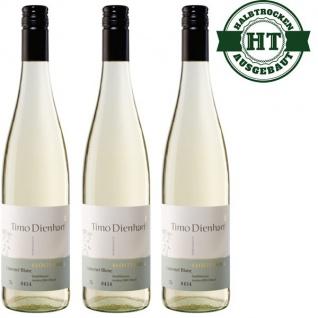 Weißwein Mosel Weingut Timo Dienhart Cabernet Blanc Qualitätswein halbtrocken ( 3 x 0, 75 l )