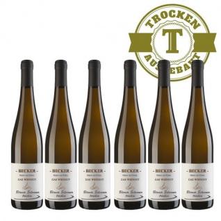Weißwein Rheinhessen Silvaner Weingut Becker trocken ( 6 x 0, 75 l)