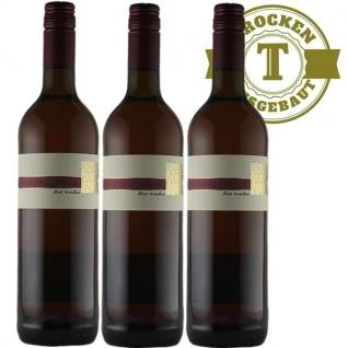Rotwein Pfalz Spätburgunder Weingut Krieger Qualitätswein trocken (3 x 0, 75l)