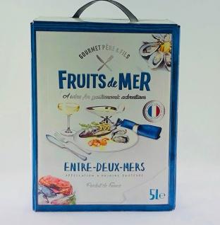 Weißwein Frankreich Sauvignon Blanc Fruits De Mer Bag in Box trocken (1x5L)
