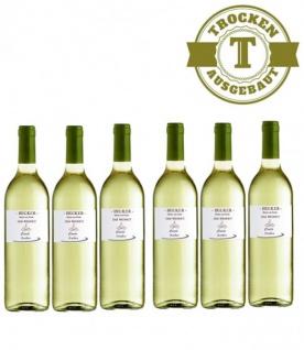 Weißwein Rheinhessen Weingut Becker Weiß & Grau (er) Burgunder trocken (6 x 0, 75 l)