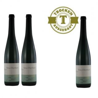 Weißwein Mosel Weingut Römerkelter Riesling Titan Qualitätswein trocken ( 3 x 0, 75 l )