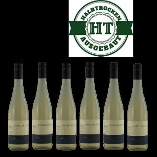 Weißwein Mosel Weingut Timo Dienhart Rivaner Classic Qualitätswein halbtrocken ( 6 x 0, 75 l )