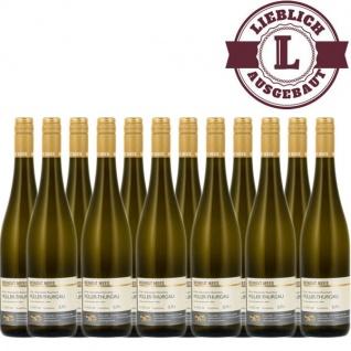 Weingut Roland Mees Nahe Kreuznacher Rosenberg Müller-Thurgau Qualitätswein lieblich (12 x 0, 75l)