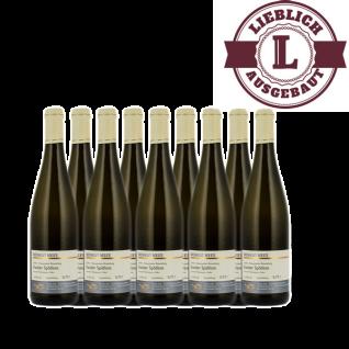 Weißwein Nahe Kanzler Weingut Roland Mees Nahe Kreuznacher Rosenberg Spätlese lieblich (9 x 0, 75l)