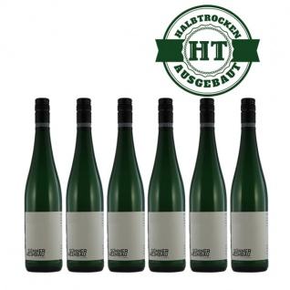 Weißwein Mosel Riesling Weingut Horst Sünner Winninger Domgarten Riesling-Hochgewächs halbtrocken 2018 (6 x 0, 75 l)