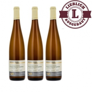 Weißwein Nahe Muskat - Ottonel Weingut Roland Mees Nahe Kreuznacher Rosenberg Spätlese lieblich (3 x 0, 75l)