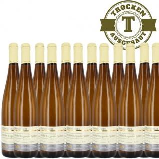 Weißwein Nahe Weißer Burgunder Weingut Roland Mees Kreuznacher Rosenberg Spätlese trocken (12 x 0, 75l)