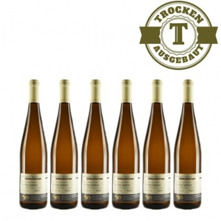 Weißwein Nahe Riesling Weingut Roland Mees Spätlese Paradies trocken (6 x 0, 75l)