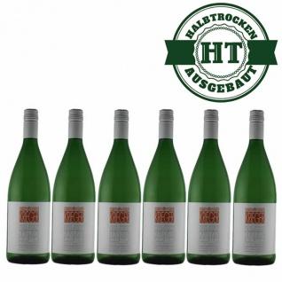 Weißwein Pfalz Müller Thurgau Weingut Krieger Rhodter Ordensgut feinherb (6x1, 0l)