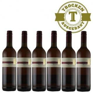 Rotwein Pfalz Spätburgunder Weingut Krieger Qualitätswein trocken (6 x 0, 75l)
