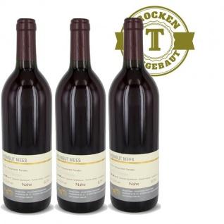 Rotwein Nahe Dornfelder Weingut Roland Mees Kreuznacher Rosenberg trocken (3 x 0, 75l)