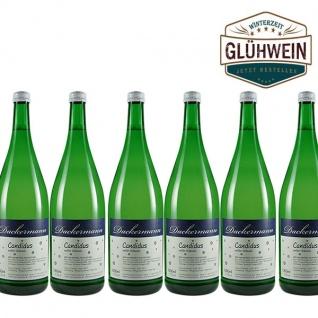 """Glühwein Rheinhessen Weingut Dackermann """" Candidus"""" weiß (6x1, 0l)"""