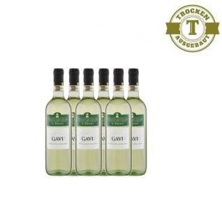Weißwein Italien Gavi trocken (6x0, 75l)