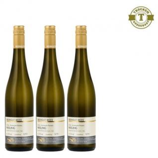Weißwein Nahe Riesling Weingut Roland Mees Nahe Kreuznacher Paradies feinherb (3 x 0, 75l)