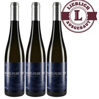 Weißwein Rheinhessen Huxelrebe Weingut Dackermann Beerenauslese 136° Süßwein (3 x 0, 5 l)