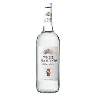 Weißer Rum White Diamonds 37, 5% Vol. (1x1, 0l)