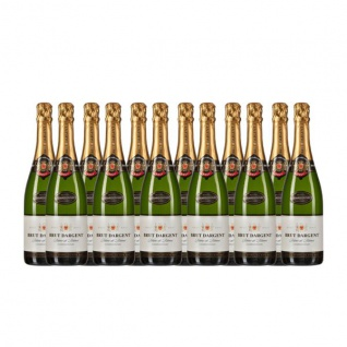 Brut Dargent Méthode Traditionnelle Chardonnay Sekt (12 x 0.75 l)