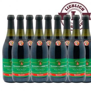 Rotwein Italien Labrusco Regiano lieblich (9x0, 75L)