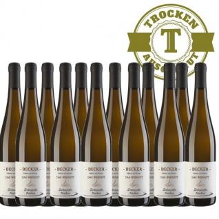 Weißwein Rheinhessen Scheurebe Weingut Becker trocken (12 x 0, 75 l)