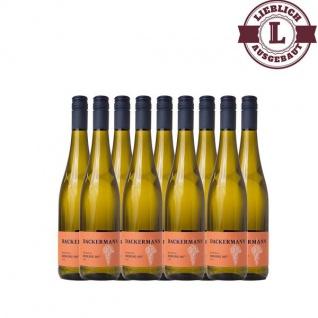 Weißwein Rheinhessen Riesling Auslese Weingut Dackermann 107° lieblich ( 9 x 0, 75 l)