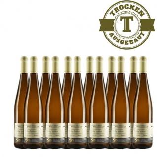 Weißwein Nahe Riesling Weingut Roland Mees Spätlese Paradies trocken (12 x 0, 75l)