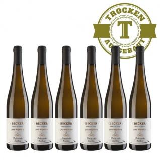 Weißwein Rheinhessen Scheurebe Weingut Becker trocken ( 6 x 0, 75 l)