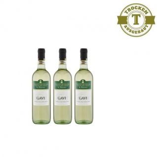 Weißwein Italien Gavi trocken (3x0, 75l)