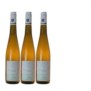 Weißwein Rheingau Riesling Weingut Lorenz Kunz Classic feinherb ( 3x0, 75l)