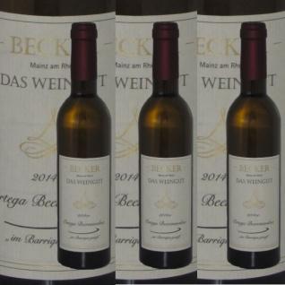 Weißwein Rheinhessen Weingut Becker Ortega Beerenauslese Barrique edelsüß (3 x 0, 375)