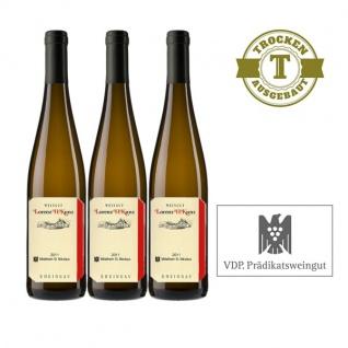 Weißwein Rheingau Weingut Lorenz Kunz Riesling Mittelheim St. Nikolaus trocken (3x0, 75l)