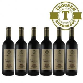 Rotwein Italien Merlot trocken (6 x 0, 75l)